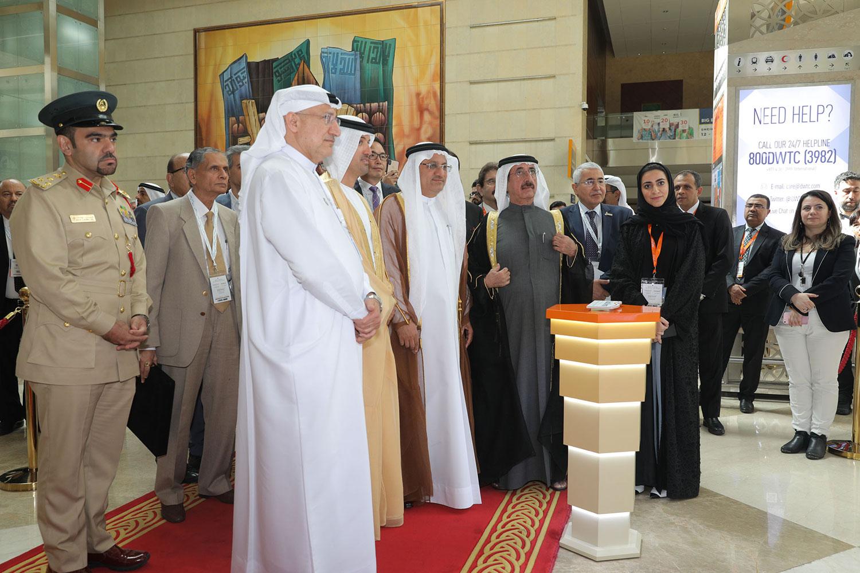 His Highness Sheikh Hasher Bin Maktoum Al Maktoum Inaugurates  Dubai Derma 2019 Today